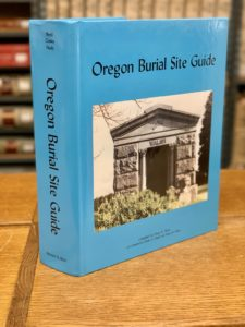 Multonomah County, Oregon Burial Sites Vol. 1 book