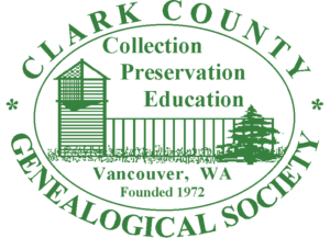 Clark County Genealogical Society Logo