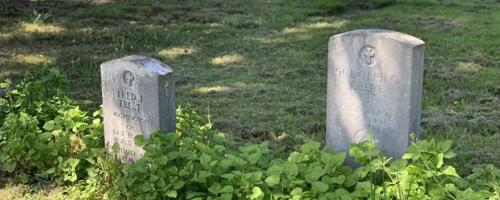 Ebert headstones horizontal