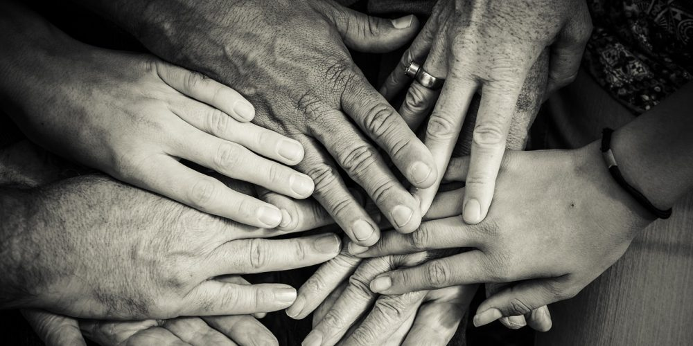 hands, family, old